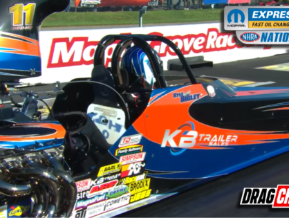 Kyle Bigley Wins Super Comp at Mopar Nationals